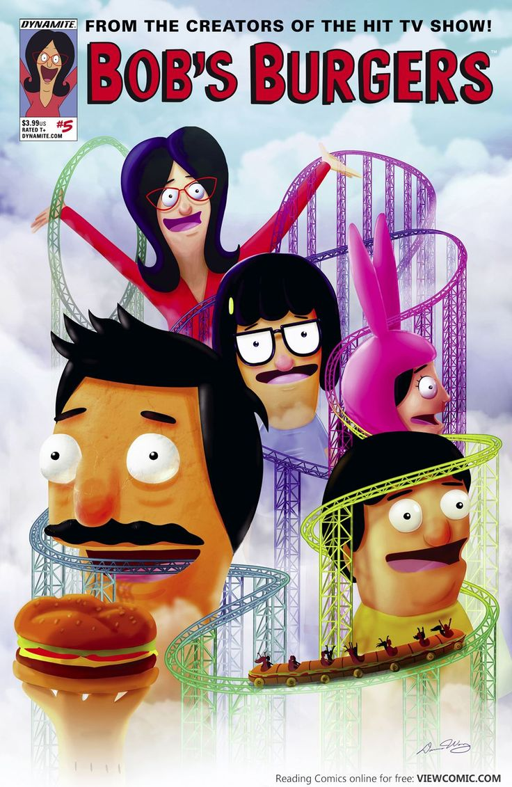 Bob's Burgers – Digital Exclusive Edition 005 (2015) | Viewcomic reading comics online for free