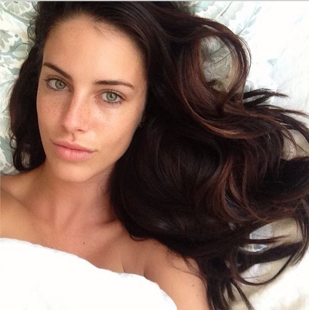 jessica lowndes no make up