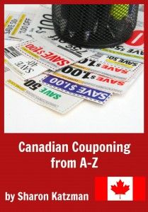 My Newest Ebook: Canadian Couponing A to Z
