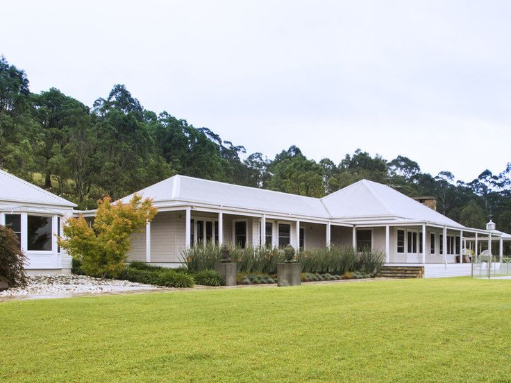 17 best ideas about australian country houses on pinterest for Colonial home designs australia