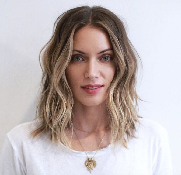 Medium Short Hairstyles medium short hairstyles tousled haircut 50 Super Glam Medium Length Wavy Hairstyles
