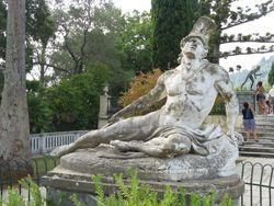 haldokló Akhilesz, Sissi kastély