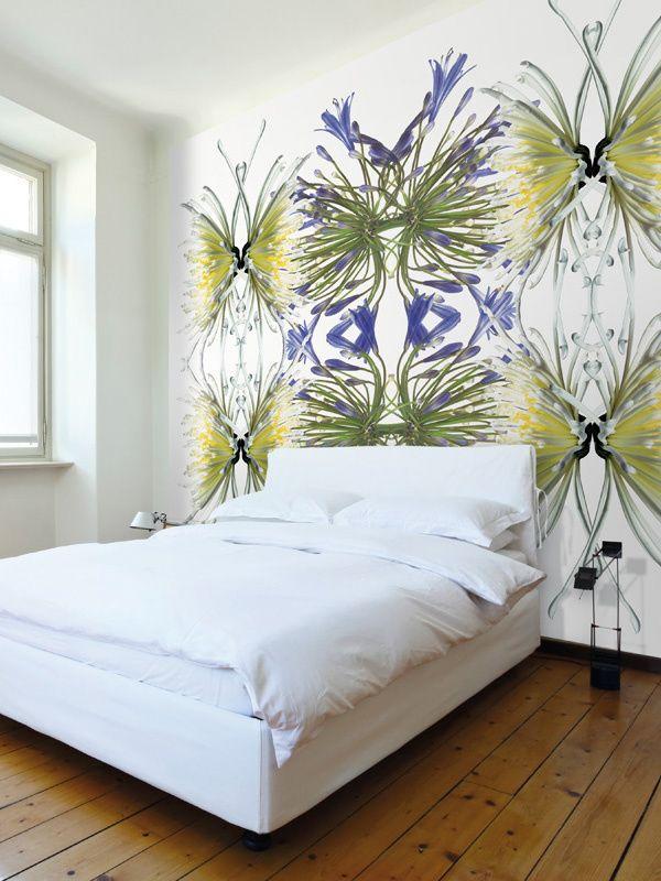 LAVMI Murals, Wild Flowers na cabeceira
