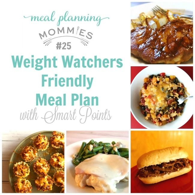 87 best Weight Watchers Weekly Menus, Meal Plans with Recipes and ...