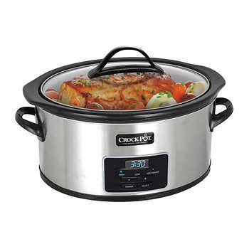 Crock-Pot 6 qt. Programmable Slow Cooker with Little Dipper Warmer