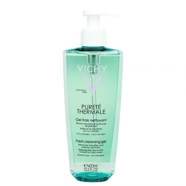 Vichy Purete Thermale Odświeżający żel do mycia twarzy 400ml - od 30,93 zł, porównanie cen w 62 sklepach. Zobacz inne Dermokosmetyki, najtańsze i najlepsze oferty, opinie.