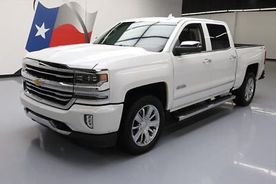 2017 Chevrolet Silverado 1500 High Country Crew Cab Pickup 4-Door 2017 CHEVY SILVERADO  HIGH COUNTRY CREW 4X4 NAV 13K MI #152110 Texas Direct Auto
