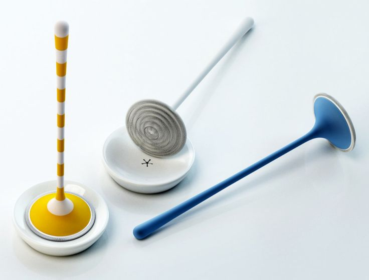 A Flexible Minimalist Toilet Brush That Might Or Might Not Work - Core77