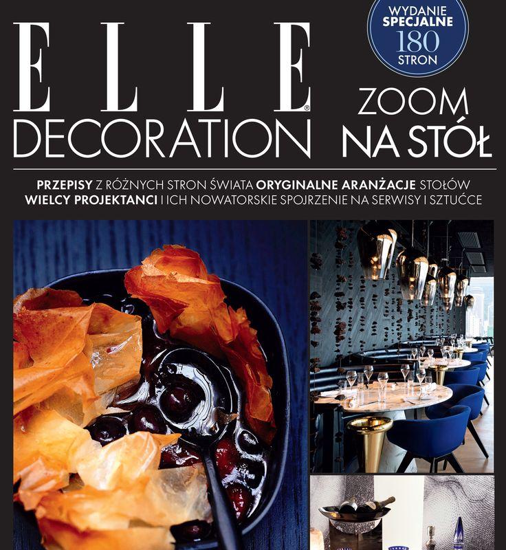 Wydanie specjalne ELLE Decoration ZOOM NA STÓŁ