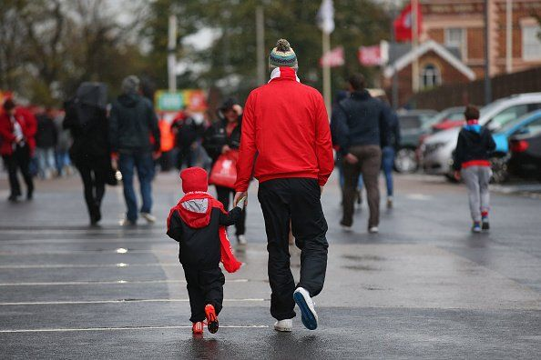 Father and son Anfield