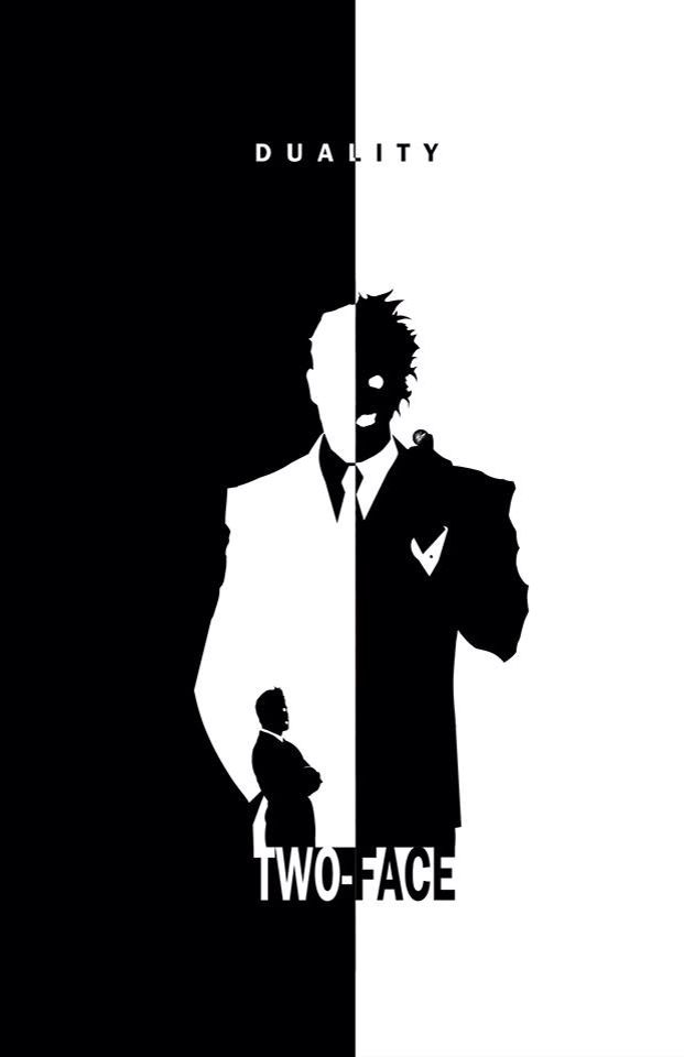 Two Face - Duality by Steve Garcia