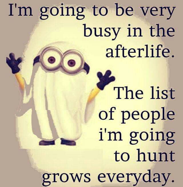 Busy Friends Funny Quotes: Busy In The After Life