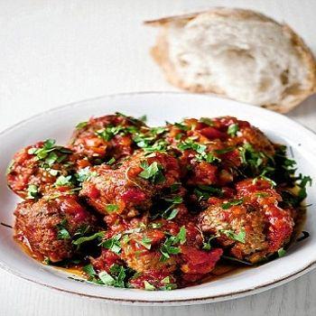 Gordon Ramsay's recipes: Meatballs in tomato sauce Recipe