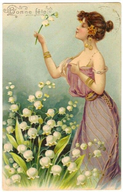 At the beginning of the 20th century, It became tradition in France to sell lily of the valley on international labor day, 1 May (also called La Fête du Muguet (Lily of the Valley Day) as a symbol of spring and for good luck Time to enjoy our Provence soaps with traditional scented as Lily of the Valley, but also Violet, Honeysuckle, or Wildrose. http://www.my-french-neighbor.com/search?controller=search&orderby=position&orderway=desc&search_query=Lily&submit_search=ok