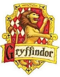 Gryffindor House Crest Sticker
