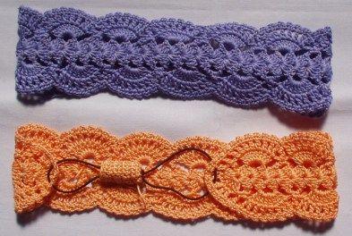 Crochet fácil: cómo tejer una vincha japonesa 6