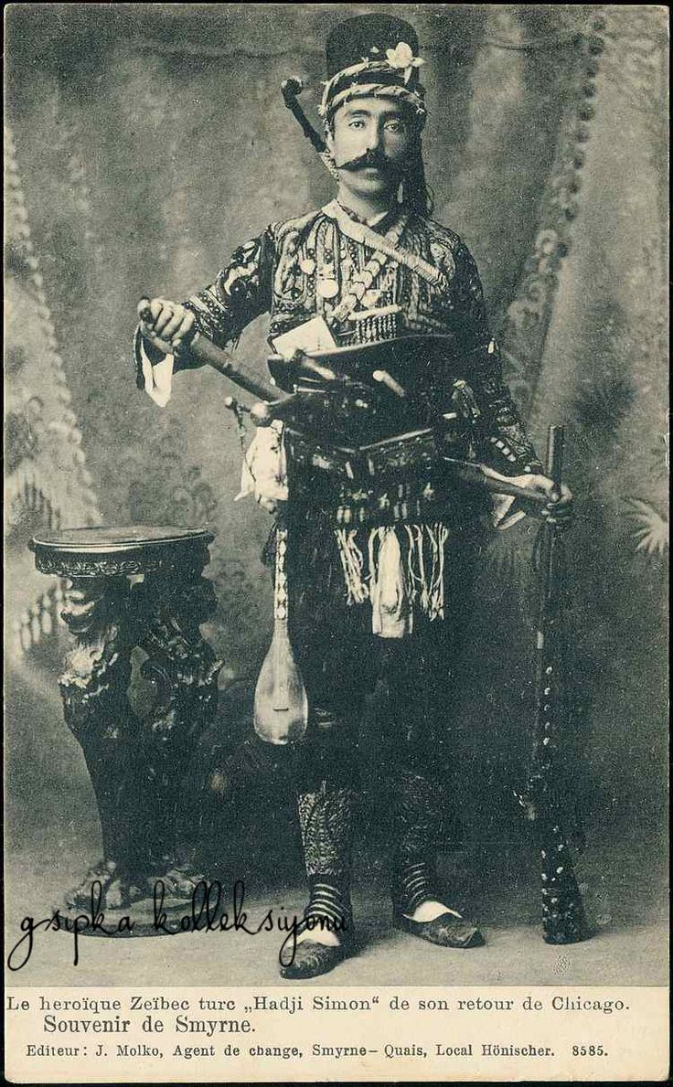 Zeybek / Zeibek / Ziebek from İzmir 'Hadji Simon' Zeybecks were irregular militia and guerrilla fighters living in the Aegean Region of the Ottoman Empire from late 17th to early 20th centuries, of Thracian origin.