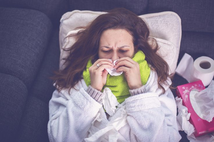 Das sind die 4 Phasen einer Erkältung