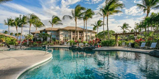 This is a private end unit located in a quiet area of the complex. As you approach the unit, there is a large open green area that feels like your very own yard. Waikoloa Colony Villas have an attached garage, an air conditioned work out room, tennis courts and 2 pools. Come and enjoy a vacation or live full time in this condo that lives like a home.