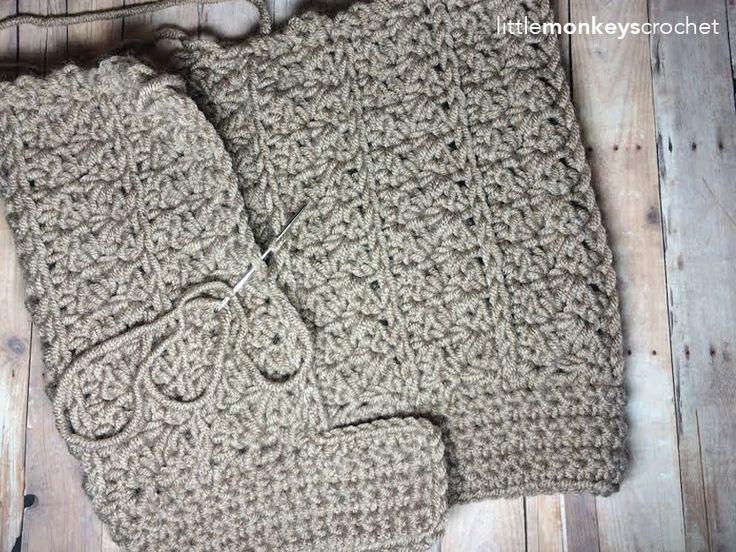 Yenni Chunky Slouch Hat lavora all'uncinetto il modello |  Scimmiette Crochet