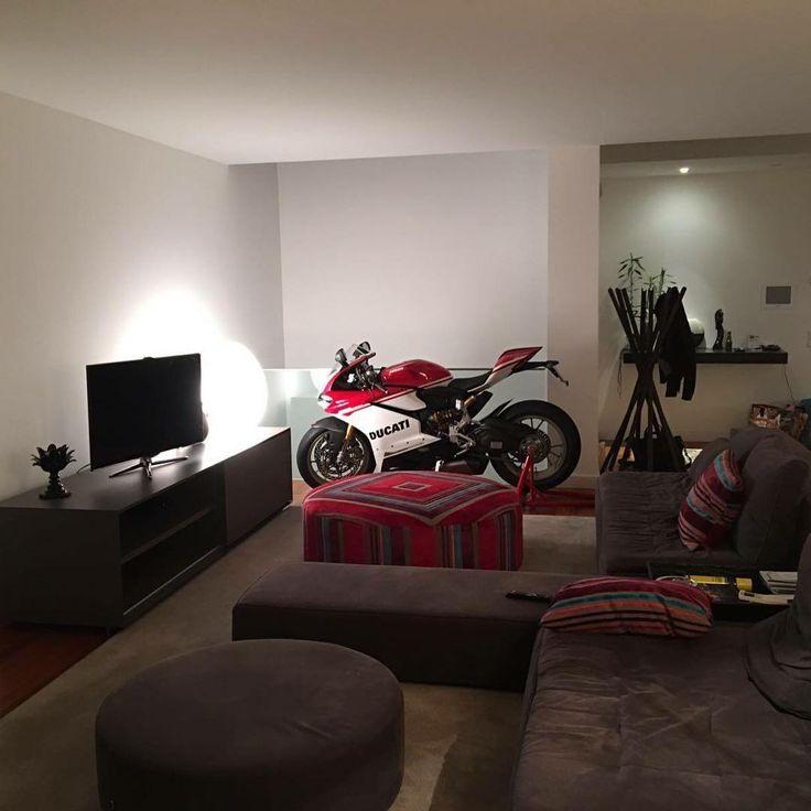 The Anniversario Edition at Home! Courtesy of: Ducati Norte…