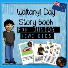 A story book for New Zealand years 2-4 that explains the Treaty of Waitangi and Waitangi Day in language young children can understand. NEW FOR 2017This 7 page book helps students understand-what the Treaty is- what the main ideas are in itIt is designed as an introduction to the Treaty for young children and as such covers the Treaty in a basic way - please look at the preview for a look at the contentINCLUDED-A4 full sized colour book-A4 full sized b/w book-mini book (4 pages to one A4…