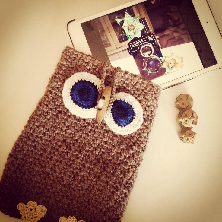 Funda iPad mini búho las cositas de Palolu