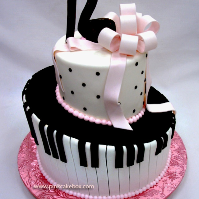 Birthday Cake Pics For Lovers : Music lovers birthday cake Music cake Pinterest