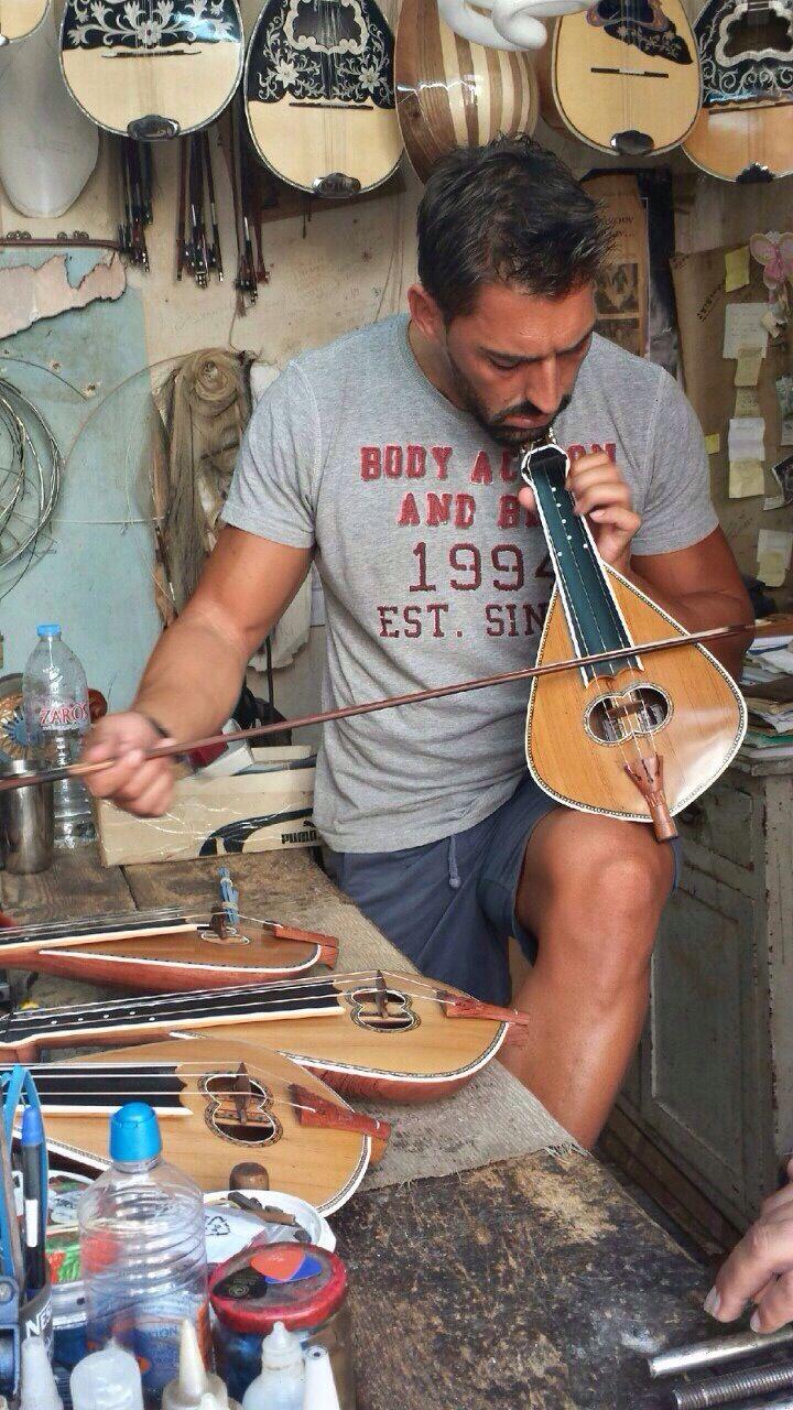 Cretan lyre music! Unforgettable!