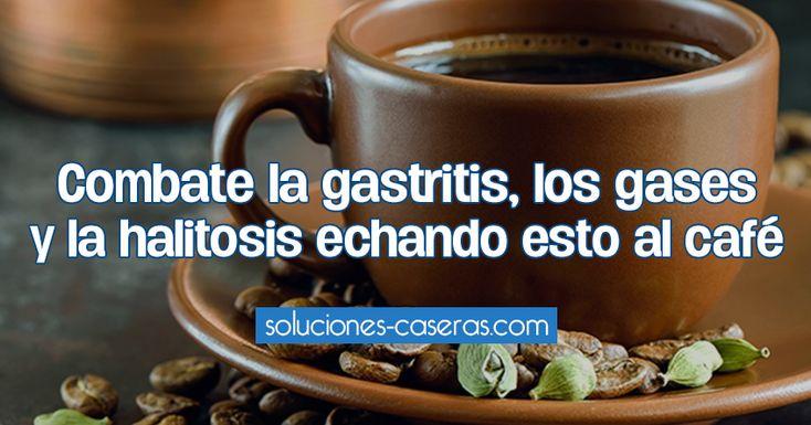 Combate la gastritis, los gases y la halitosis echando esto al café