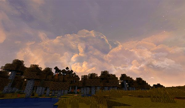 Dramatic Skys Texture Pack para Minecraft 1.9 y 1.8
