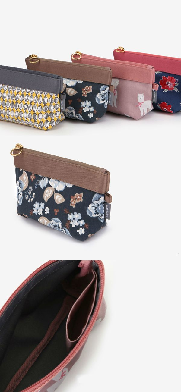 The Dailylike Small Pouch v2 is a simple compact pouch to store your small items for your convenience! Every pouch has a colorful design and a zipper to easily add and remove the items. It's easy to stay organized by using the Dailylike Small Pouch v2!
