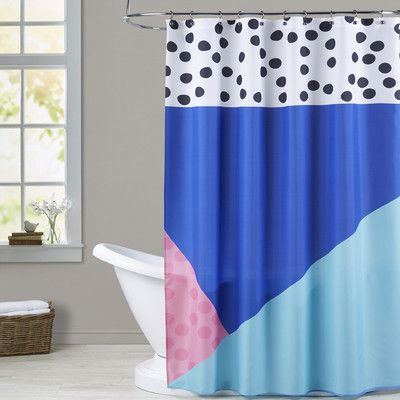 Brayden Studio Ashlee Rae Dotti Two Shower Curtain