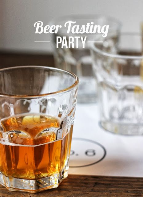 How To Throw Your Own Beer Tasting Party |My Thirty Spot