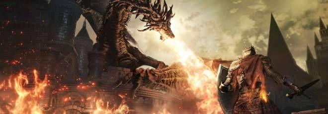 Dark Souls III grafica videogame per PS4 Xbox One la cura artistica di From Software