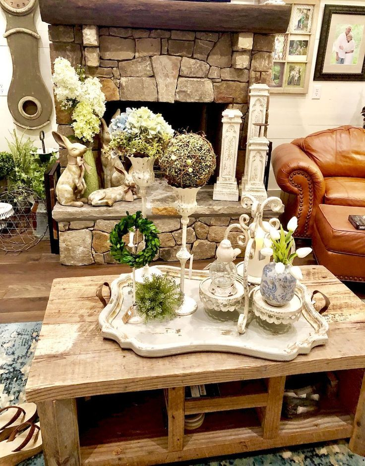 Simple Farmhouse Decor Living Room