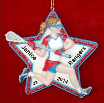 15 best Lacrosse Ornaments images on Pinterest  Lacrosse