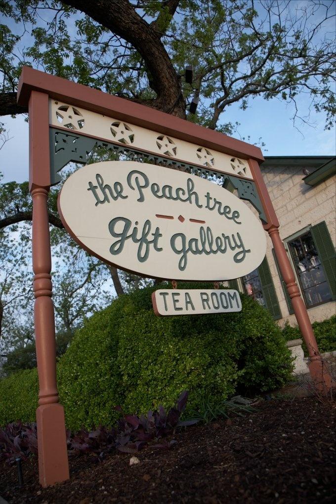 the peach tree restaurant and gifts - Fredericksburg Texas