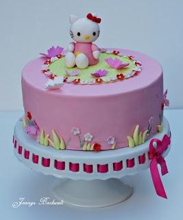 Jennys Backwelt: Hello Kitty Torte