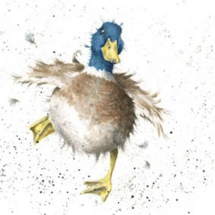 'A Waddle and a Quack' | Wrendale designs illustration