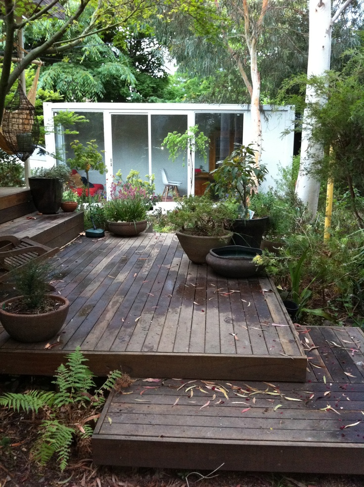 The 25 best tiered deck ideas on pinterest two level for Garden design level 3