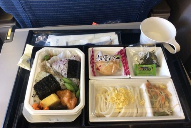 Ana Airlines Economy Class Meal Pixorange Airplane Food Airline Food Food