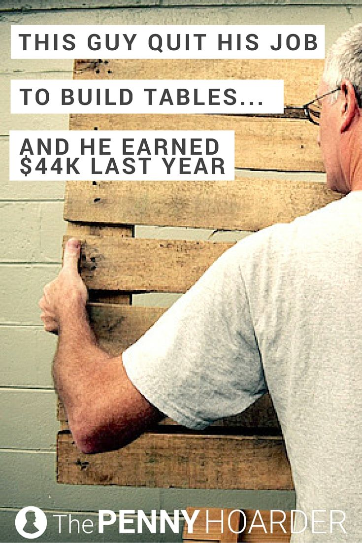 Matt Lebel was miserable in college, so he dropped out. After working in retail and trying a few business ideas, he started building furniture… and this successful entrepreneur hasn't looked back. - The Penny Hoarder http://www.thepennyhoarder.com/successful-entrepreneur-building-tables/