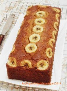 Banana...bananaa...banana cake lagi...  Ini salah satu cake atau bolu pisang yang jadi andalan saya kalau lagi ada acara2 baik di rumah ...