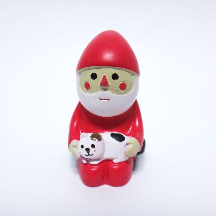 Concombre DECOLE Japan Cute Lovely Kawaii Figure Christmas Santa with Cat #ConcombrebyDECOLE