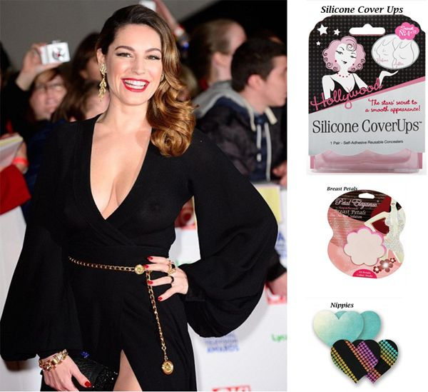 Kelly Brook made the ultimate fashion faux pas as she stepped out on the 2014 National Television Awards red carpet, quite evidently bra-less!! Check out our vast selection of bra accessories to prevent this fashion faux pas at http://www.secretfashionfixes.ie/bra-accessories-!5-cat.html