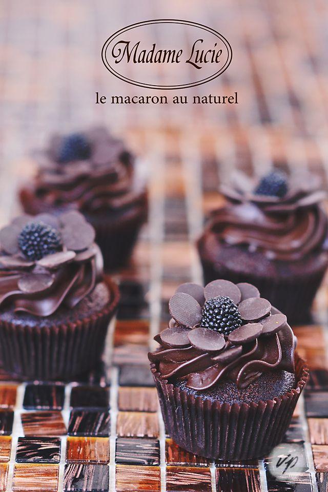 Pure Chocolate Cupcakes <3