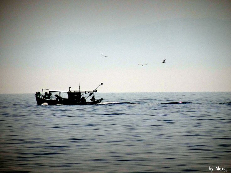 https://flic.kr/p/rapV6J   Halkidiki,Loutra   Fishing boat