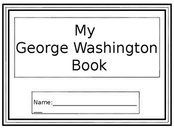 This is a book on George Washington. It includes a KWL, fact sheet, timeline, walk around activity, coloring activities, drawing activities, a web organizer, and even a true or false sheet.