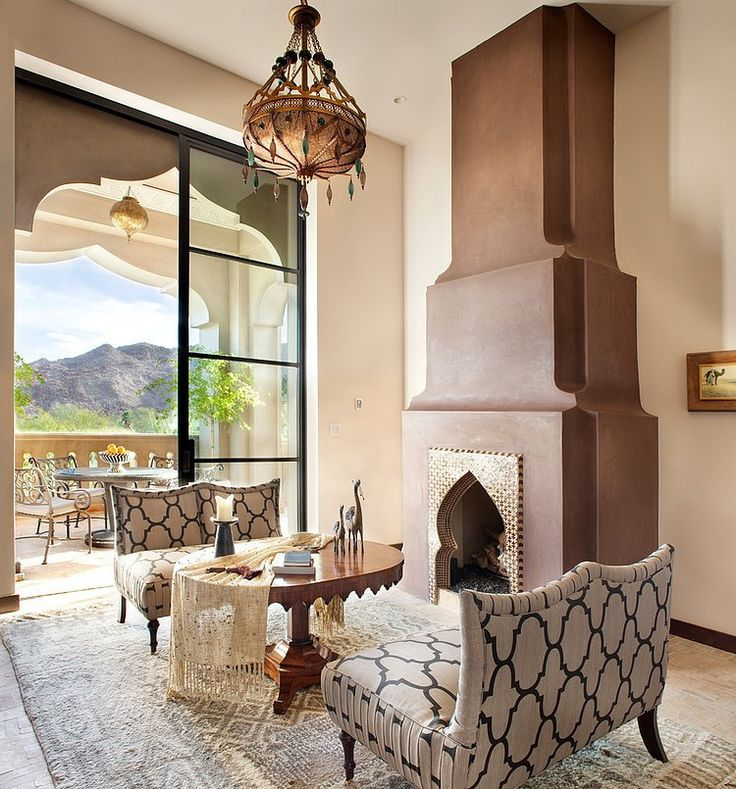 Get Inspired By Charming Kasbah Cove For Most Luxurious Exotic Moroccan Style Mediterranean Living RoomsMoroccan